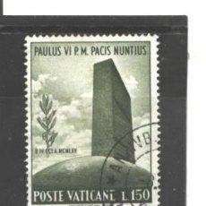 Sellos: VATICANO, CIUDAD DEL 1965 - YVERT NRO. 436 - USADO. Lote 45804495