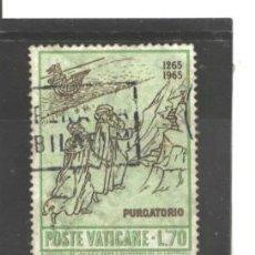 Sellos: VATICANO, CIUDAD DEL 1965 - YVERT NRO. 430 - USADO. Lote 45804539