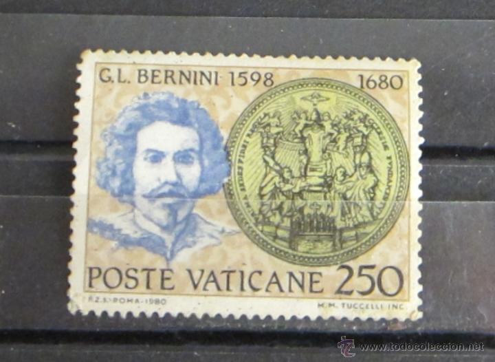 POSTE VATICANE 250 G.L. BERNINI (Sellos - Extranjero - Europa - Vaticano)