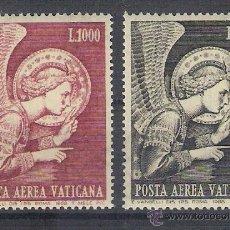 Sellos: VATICANO - AÑO 1968 - YVERT A53 / A54 - EDIFIL 533 / 534 - ARCANGEL SAN GABRIEL. Lote 47870680