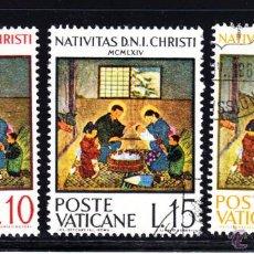 Sellos: VATICANO 415/17 - AÑO 1964 - NAVIDAD - PINTURA JAPONESA - OBRA DE KIMIKO KOSEKI. Lote 49455766