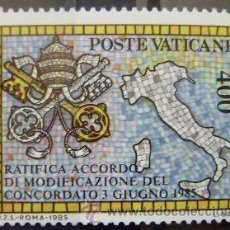 Selos: VATICANO - IVERT Nº 783 - NUEVOS ( ** ) MODIFICACION CONCORDATO SANTA SEDE Y ITALIA. Lote 49613776