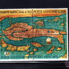 Sellos: VATICANO 536/41** - AÑO 1972 - UNESCO - PROTECCION DEL PATRIMONIO ARTISTICO DE VENECIA. Lote 103898180