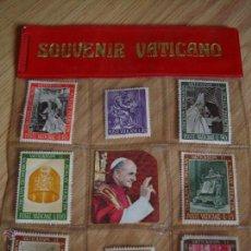 Sellos: LOTE DE 8 SELLOS DE SOUVENIRES DEL VATICANO. Lote 50485973