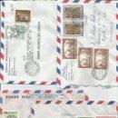 Sellos: CORREO AEREO HISTORIA POSTAL 4 SOBRES - VATICANO. Lote 50946126