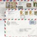Sellos: CORREO AEREO HISTORIA POSTAL 4 SOBRES - VATICANO. Lote 50946230