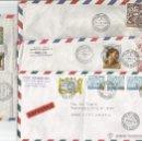 Sellos: CORREO AEREO HISTORIA POSTAL 4 SOBRES - VATICANO. Lote 50946247