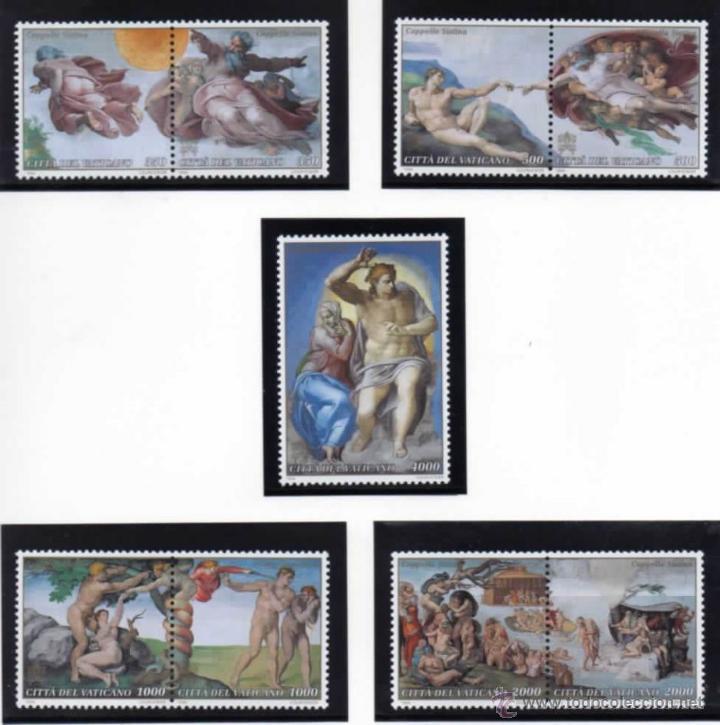 VATICANO.- YVERT Nº 969/76 Y 977 SERIE COMPLETA EN NUEVO (Sellos - Extranjero - Europa - Vaticano)