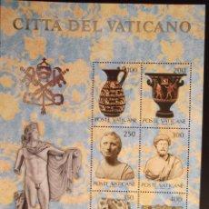 Vaticano. HB 5 Colecciones de Arte en USA (I)**. 1983. Sellos nuevos y numeración Yvert