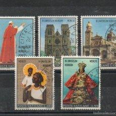 Sellos: VATICANO=YVERT Nº 513/17=VIAJE DE PABLO VI A FILIPINAS Y AUSTRALIA=AÑO 1970=FI:325. Lote 55366908