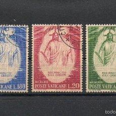 Sellos: VATICANO=YVERT Nº 485/87=PASCUAS-RESURECCION=AÑO 1969=FI:325. Lote 55379945