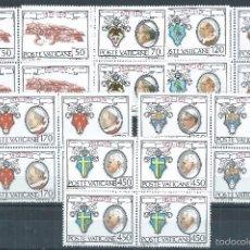 Sellos: R9/ VATICANO EN NUEVO** 1979, CAT. 746/52, L ANIV. ... CIUDAD DEL VATICANO. Lote 57104124
