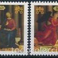 Sellos: VATICANO 2005 IVERT 1387/8 *** LOS GRANDES MUSEOS DEL MUNDO - ARTE. Lote 57532359