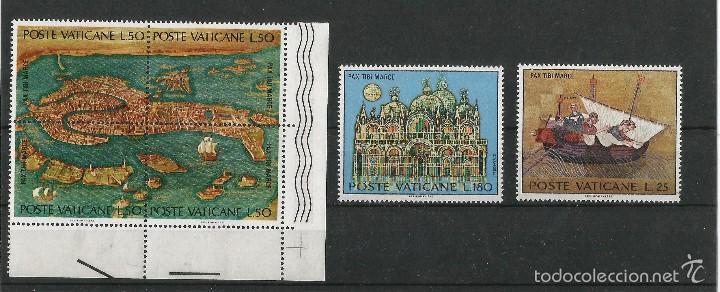 VATICANO 1972 SALVAD VENECIA. UNESCO (Sellos - Extranjero - Europa - Vaticano)