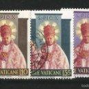 Sellos: VATICANO 1954 CANONIZACION DE PIO X. Lote 57911890