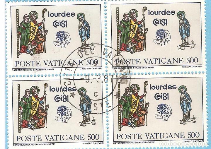 VATICANO 1981, BLOQUE 4, YT. 711 (Sellos - Extranjero - Europa - Vaticano)