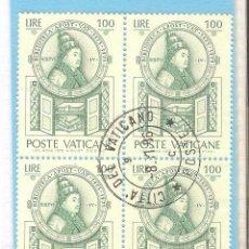 Sellos: VATICANO 1975, BLOQUE 4, YT. 604. Lote 63344804