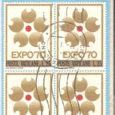 Sellos: VATICANO 1970, BLOQUE 4, YT. 497. Lote 63345020
