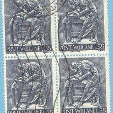 Sellos: VATICANO 1966, BLOQUE 4, YT. 447. Lote 63345116