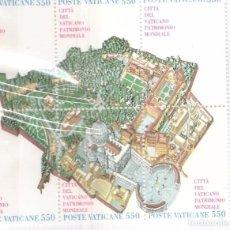 Sellos: VATICANO 1986, HOJITA, YT. 786/791. Lote 63345728