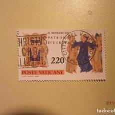 Sellos: SAN BENITO - PATRON DE EUROPA -S. BENEDETTO. Lote 64755759