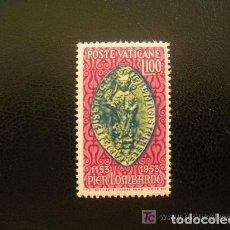 Sellos: VATICANO 1953 IVERT 191 * 8º CENTENARIO DE LA MUERTE DE PIERRE LOMBARD - OBISPO DE PARIS. Lote 70168657