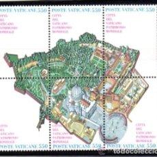 Sellos: VATICANO 1986 IVERT 786/91 *** CIUDAD DEL VATICANO - PATRIMONIO MUNDIAL. Lote 72845475
