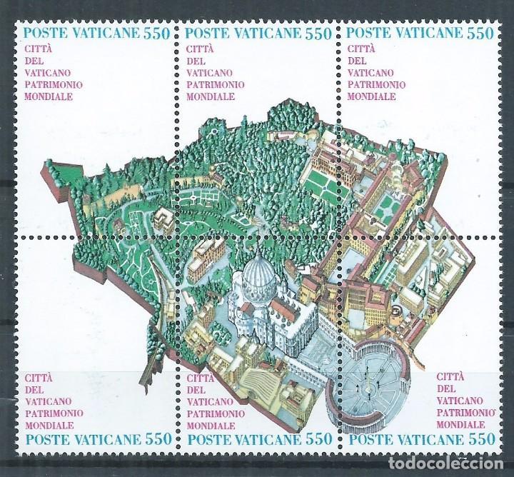 R12/ VATICANO Y&T 786/91 (Sellos - Extranjero - Europa - Vaticano)