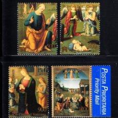Sellos: VATICANO 1999 IVERT 1177/80 *** NAVIDAD - PINTURA DE GIOVANNI DI PIETRO. Lote 74867967