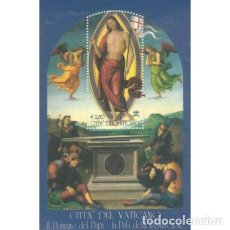 Sellos: VATICANO 2005 HB IVERT 27 *** RETABLO DE LA RESURRECCIÓN - PINTURA DE PERUGINO. Lote 75495863