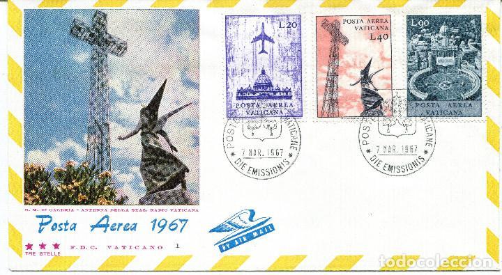 Sellos: VATICANO 1967 SOBRES PRIMER DIA FDC - Foto 2 - 77304621