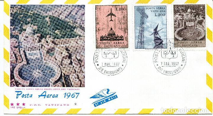 Sellos: VATICANO 1967 SOBRES PRIMER DIA FDC - Foto 3 - 77304621