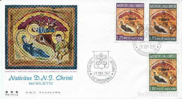 Sellos: VATICANO 1967 SOBRES PRIMER DIA FDC - Foto 8 - 77304621