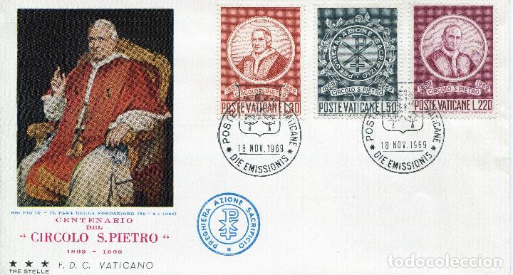 Sellos: VATICANO 1969 SOBRES PRIMER DIA FDC - Foto 5 - 77304817