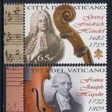 Sellos: VATICANO - DIA DE LA MUSICA (2009) **. Lote 81658712