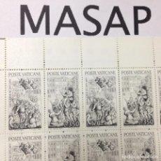Lote de 41 sellos nuevos del Vaticano de L.350 Liras del año 1977