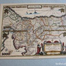 Sellos: VATICANO 1999 HB YVERT Nº20 **,LUGARES SANTOS DE PALESTINA - MAPA DE LA TIERRA SANTA. Lote 95597227