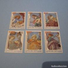 Sellos: VATICANO 1998 YVERT Nº1108/13 **, ANGELES MÚSICOS , PINTURA DE MELOZZO DE FORLI. Lote 101327659