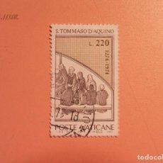Sellos: VATICANO - SANTO TOMAS DE AQUINO.. Lote 105835575
