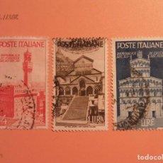 Sellos: VATICANO - REPÚBLICA DE AMALFI, LVCCA Y FIRENZE.. Lote 105835815