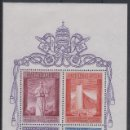 Sellos: VATICANO 1958 HB IVERT 2 *** EXPOSICIÓN DE BRUSELAS. Lote 111714607