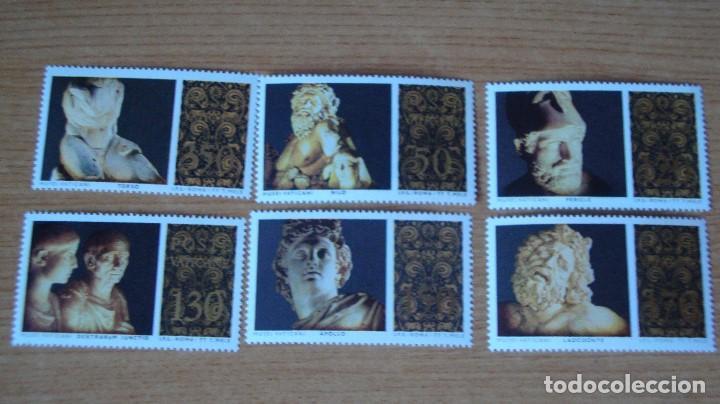VATICANO AÑO 1977 YVERT 638/43 NUEVOS PERFECTOS (Sellos - Extranjero - Europa - Vaticano)