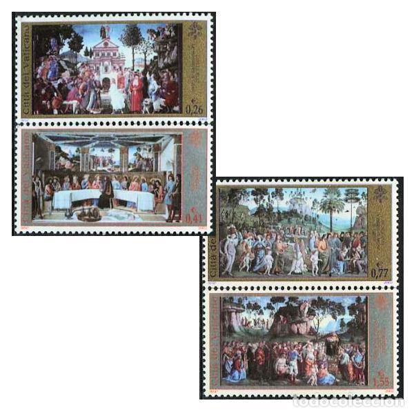 VATICANO - FRESCOS DE LA CAPILLA SIXTINA (2002) ** (Sellos - Extranjero - Europa - Vaticano)