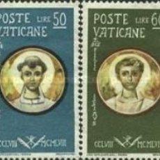 Sellos: VATICANO - Nº274/279 - AÑO 1959 - MARTIRES CRISTIANOS - NUEVOS. Lote 117115807