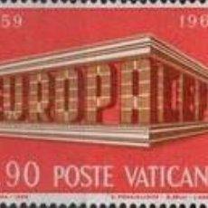 Sellos: VATICANO - Nº488/490 - AÑO 1969 - EUROPA - NUEVOS. Lote 117189455