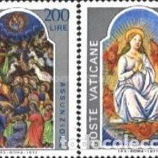 Sellos: VATICANO - Nº636/637 - AÑO 1977 - LA ASUNCION DE LA VIRGEN - NUEVOS. Lote 117352267