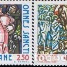 Sellos: VATICANO - Nº700/701 - AÑO 1980 - LITURGIA SOLEMNE - NUEVOS. Lote 117515479
