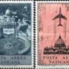 Sellos: VATICANO - Nº47/52 - AÑO 1967 - AEREOS - NUEVOS. Lote 118381335