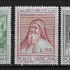 Sellos: VATICANO 1972 MNH - 5/6. Lote 125226411