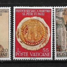 Sellos: VATICANO 1967 MARTYRDOM OF THE APOSTLES PETER AND PAUL, MNH - 5/1. Lote 125236503